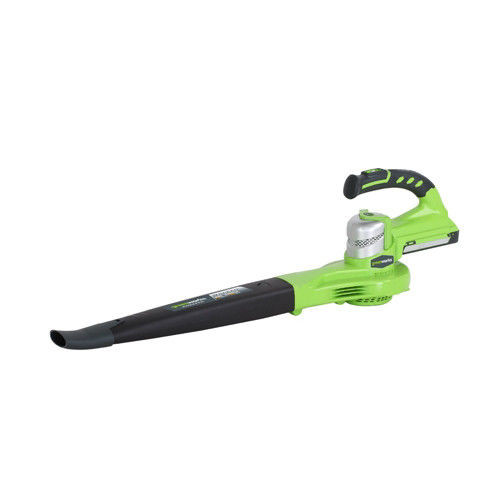 Greenworks 2400202 24V Cordless Lithium-Ion Two Speed Handheld Blower (Bare Tool)