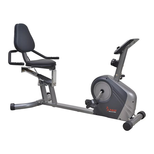 Sunny Health & Fitness High Capacity Recumbent Exercise Bike