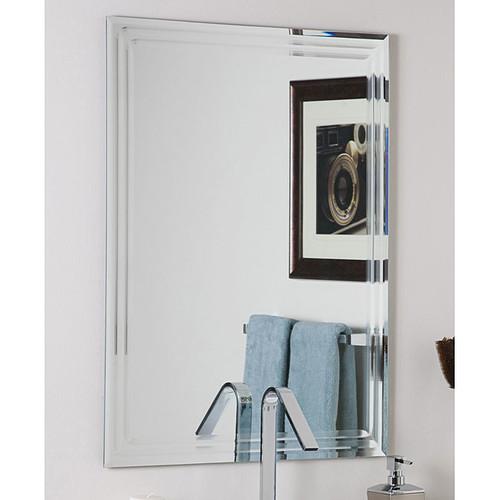 Frameless Tri-bevel Wall Mirror