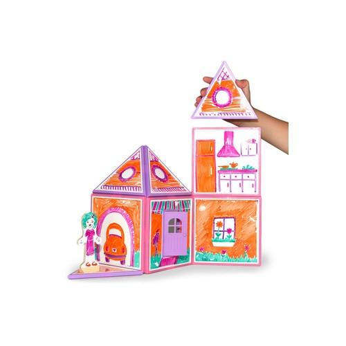 Build Draw Dollhouse
