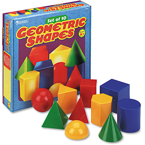 Learning Resources Large Geometric Shapes