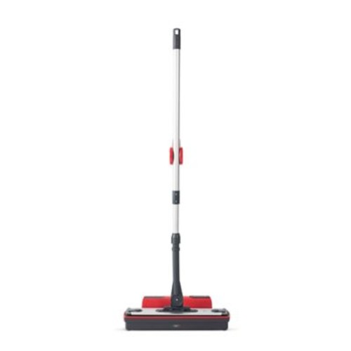 Polti Moppy Cordless Portable Steam Mop in Red