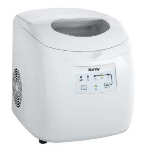 Danby 25 lb. Freestanding Ice Maker in White