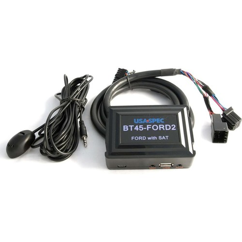 USA Spec BT45-FORD2 Add Bluetooth to the factory radio in select 2005-11 Ford, Lincoln, or Mercury vehicles with satellite radio