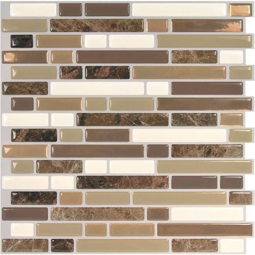 Smart Tiles Original Peel & Stick Backsplash Wall Tile - SM1106G-06-QG
