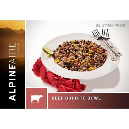 AlpineAire Beef & Rice Burrito Bowl