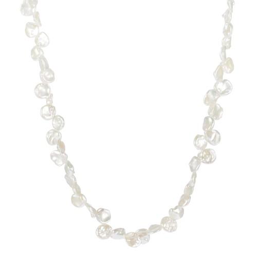 Lita Genuine Keshi Freshwater Pearl Necklace,17