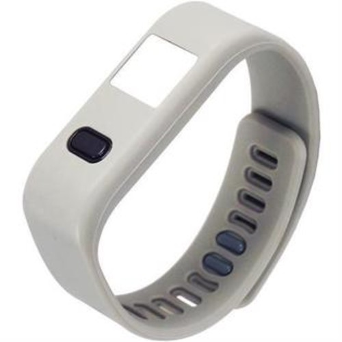 NAXA NSW 13 GREY LifeForce Fitness Watch for iPhone(R) Android(TM) (Gray)