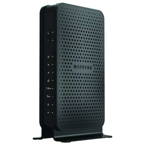 NETGEAR Wireless Router - Auto Sensing, Gigabit Ethernet, 802.11ac, USB - C3700-100NAS