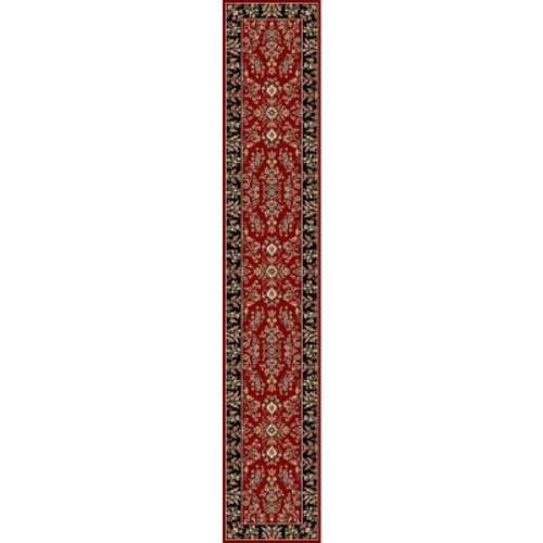 Safavieh Lyndhurst Red/Black 2 ft. x 22 ft. Runner Rug