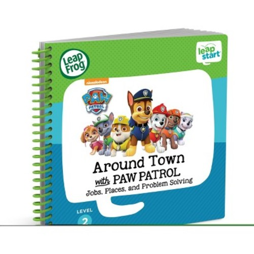 LeapFrog LeapStart Around the Town with Paw Patrol Book