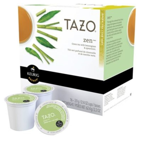 Keurig K-Cup Starbucks Tazo Tea, 16 Pack, English Breakfast or Green Tea