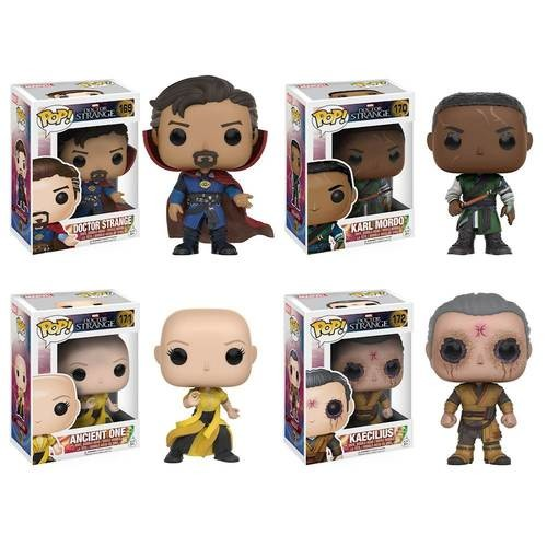 Funko - POP! Marvel: Doctor Strange Collector's Set