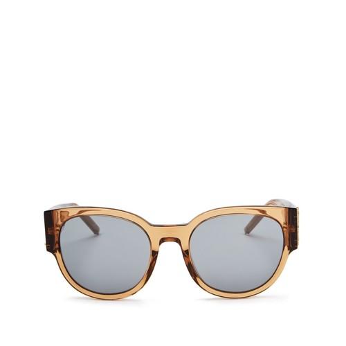 Mirrored Round Sunglasses, 54mm
