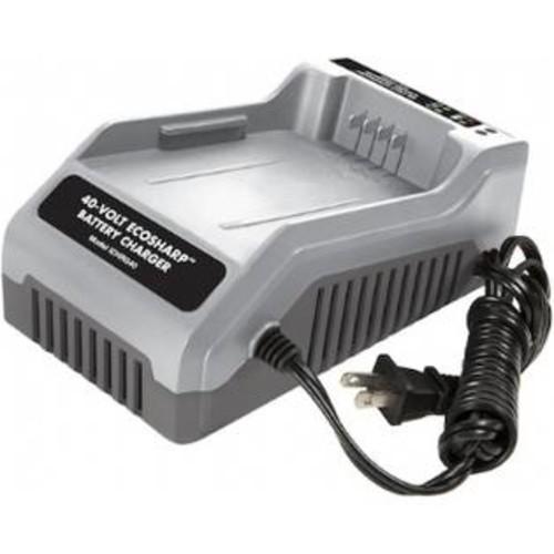 Snow Joe ICHRG40 Snow Joe iON 40-Volt EcoSharp Lithium-Ion Charger - 3 Hour Charging - 40 V DC Output - Yes