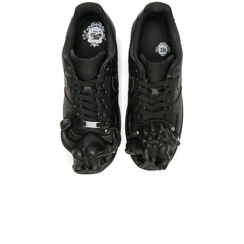 Comme Des Garcons Homme Plus Nike Air Force 1 CDG Custom in Black & Black
