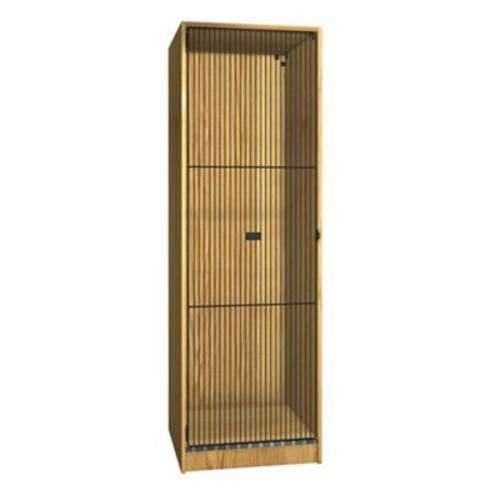 Ironwood Teton 1 Tier 1 Wide Storage Locker; Natural Oak