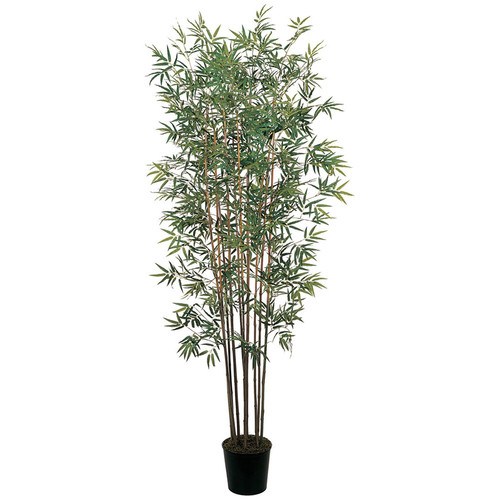 nearly natural 6-ft. Mini Bamboo Silk Tree