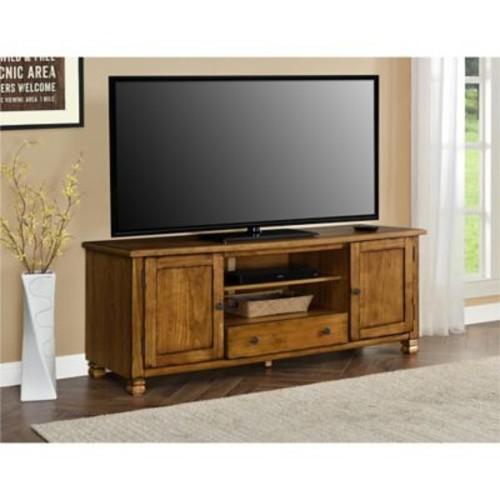 Altra San Antonio Wood Veneer TV Stand, Tuscany Oak (1772096COM)