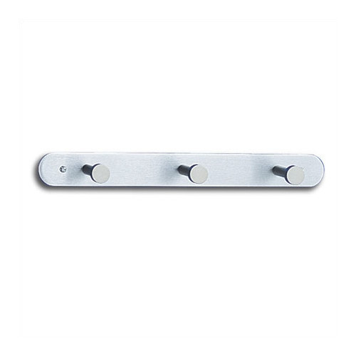 Nail Head Coat Rack with 3 Hooks [Set of 12]