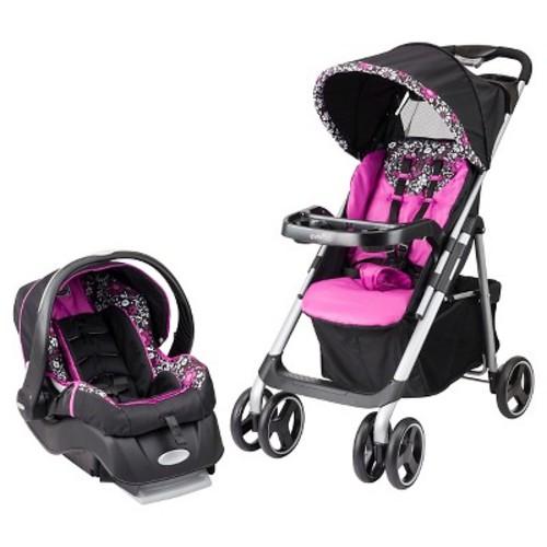 Evenflo Vive Travel System Stroller with Embrace Infant Car Seat - Daphne