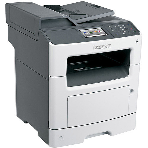 Lexmark MX410de Monochrome All-In One Laser Printer, Scan, Copy, Network Ready, Duplex Printing and Professional Features [Printer]
