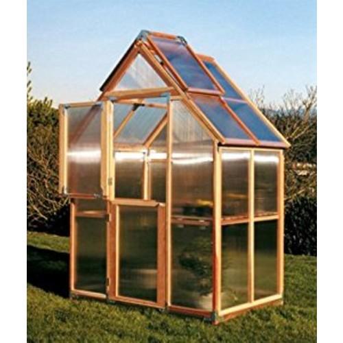 Sunshine GardenHouse 6X4 : Free Standing Greenhouses : Garden & Outdoor
