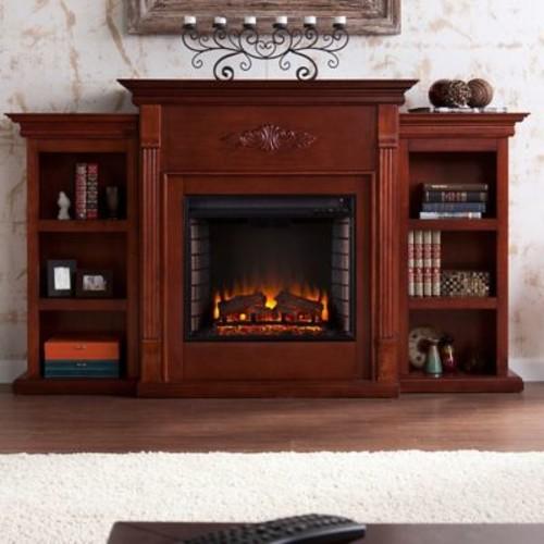 Astoria Grand Beeley Electric Fireplace; Mahogany