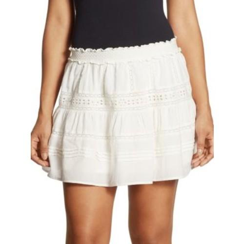 Botanic Victorian Cotton Mini Skirt