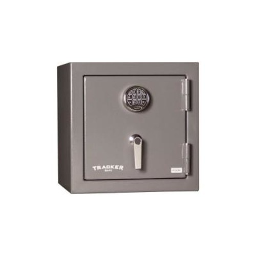 Tracker Safe 4.63 cu. ft. Steel Fire-Resistant Home Safe with Electronic Lock, Gray