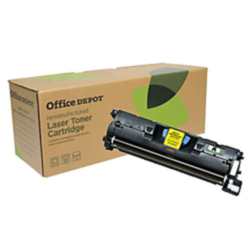 Office Depot Brand Q3963A (HP 121A) Remanufactured High-Yield Magenta Toner Cartridge
