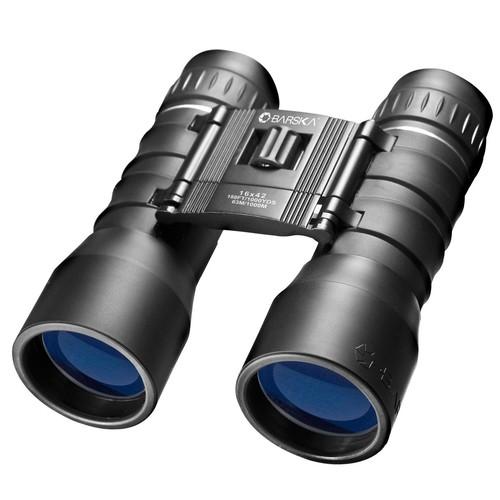 Barska Lucid View 16x42 Binoculars  Black
