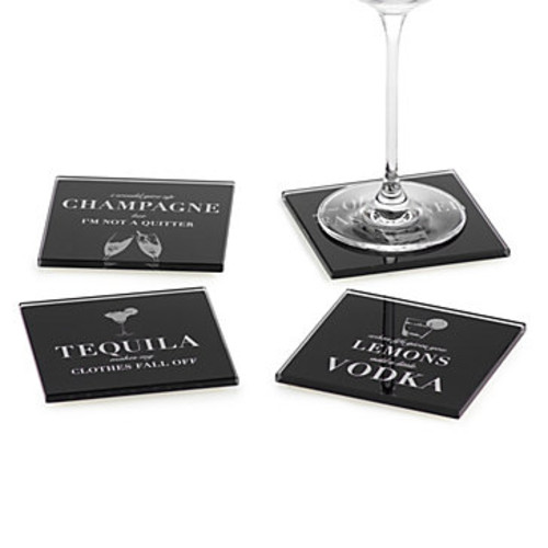 Cocktail Confessions Coasters - Set of 4