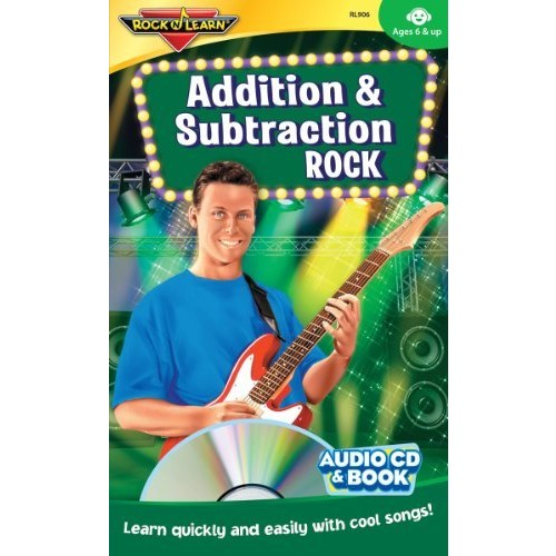 Addition and Subtraction Rock Audio CD and Book by Rock 'N Learn: Music [1]