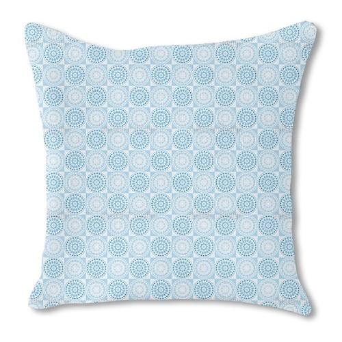 Poseidon Plays Chess Burlap Pillow Single Sided