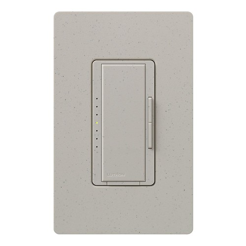 Lutron Maestro C.L Dimmer Switch for Dimmable LED, Halogen & Incandescent Bulbs, Single-Pole or Multi-Location, MACL-153M-ST, Stone [Stone]