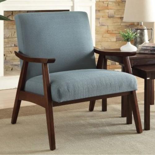 AVE SIX Davis Klein Sea Fabric Arm Chair