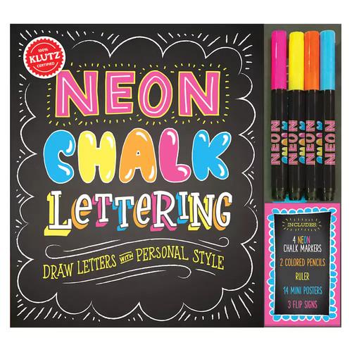 Klutz Neon Chalk Lettering Kit