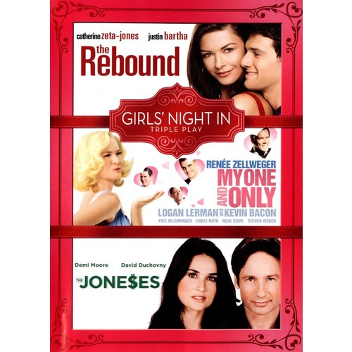 The Rebound/My One and Only/The Joneses [DVD]