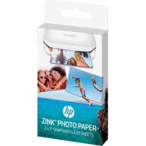 HP Zink Photo Paper 2 X 3 - 20 Pack for Sprocket Printer