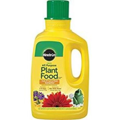 Miracle-Gro Miracle_Gro 1001502 All Purpose Liquid Plant Food Concentrate_ 32_Ounce _Plant Fertilizer_