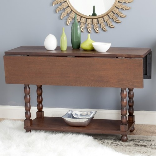 Safavieh Coffee, Console, Sofa & End Tables Safavieh Wade Console / Brown