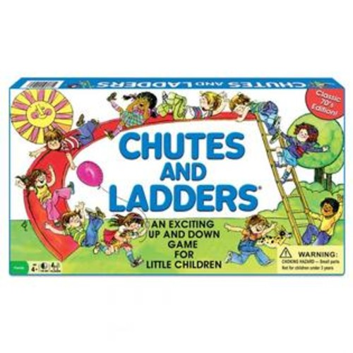 Winning Moves Games Inc Winning Moves WNM1195 Classic Chutes & Ladders Board Game