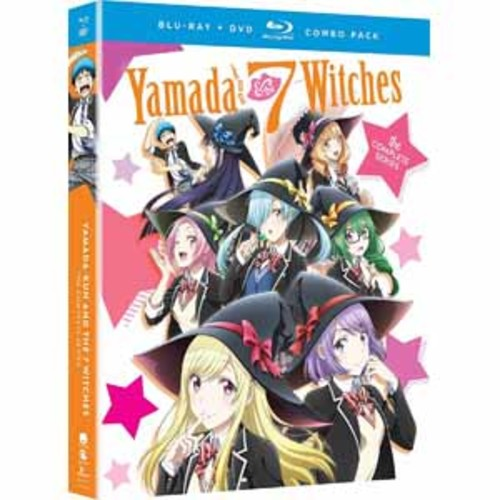 Yamada-kun And The Seven Witches: The Complete Series [Blu-Ray] [DVD]