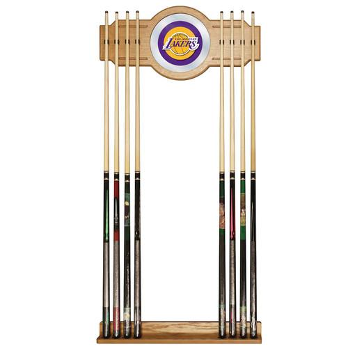 Los Angeles Lakers NBA Billiard Cue Rack with Mirror