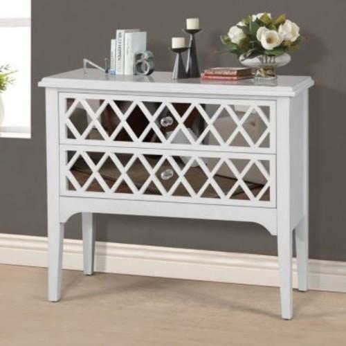 Wildon Home 2 Drawer Wooden Cabinet