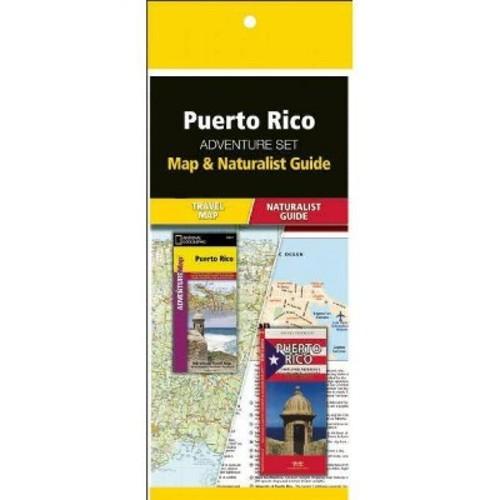 Puerto Rico Adventure Set: Map & Naturalist Guide