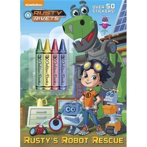Rusty Rivets Rusty's Robot Rescue Coloring Book