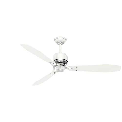 Casablanca Tribeca 60 in. Indoor Snow White Ceiling Fan with 4-Speed Wall Mount Control
