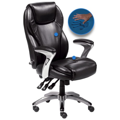 Serta Leather Ergo-Executive Office Chair